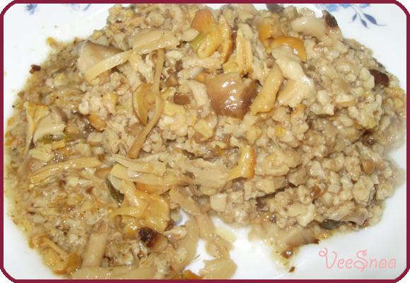 маринованные грибы, закуска
