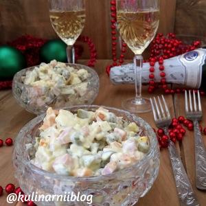 salat-olive-s-kolbasoj-i-solenymi-ogurcami-1